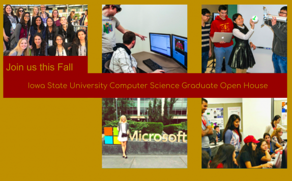 join us this fall iowa state university computer science graduate open house