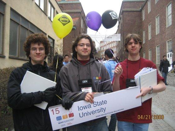 ISU 2009 ACM-ICPC team