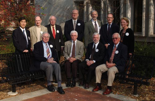 Carl Chang(current Chair), Dale Grosvenor(Retired Associate Professor), Harry Brearley(Professor Emeritus), Douglas Epperson(Associate Dean), David Oliver(Associate Dean), George Strawn(Retired Associate Professor and former Director), Zora Zimmerman(Associate Dean)