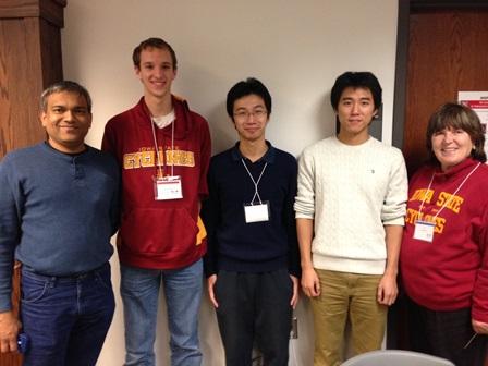 Photo of 2013 ICPC team