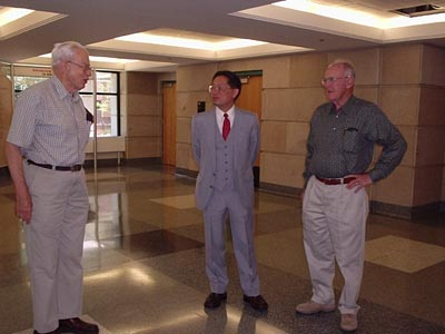 Gordon Moore with Dr. Chang