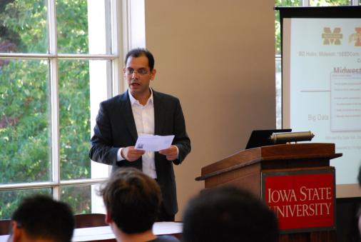 Dr. Hridesh Rajan Presents at ISU Big Data Summer School