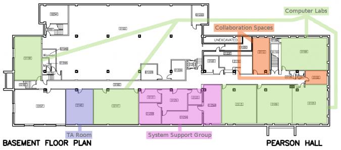 Pearson Hall Basement Labs