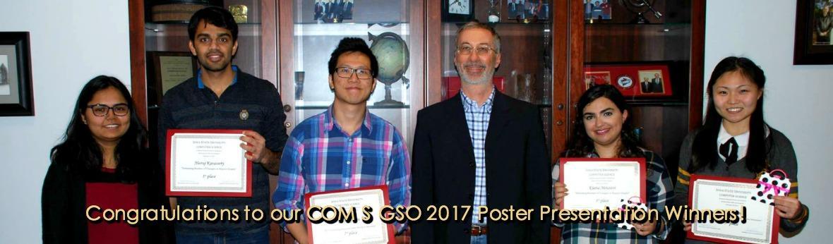 COM S GSO 2017 Poster Presentation Winners