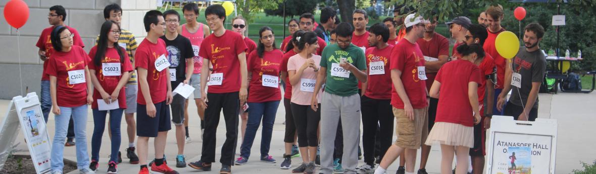 4K Fun Run starting Line