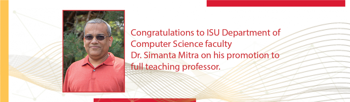 Dr. Simanta Mitra promoted to full teaching professor