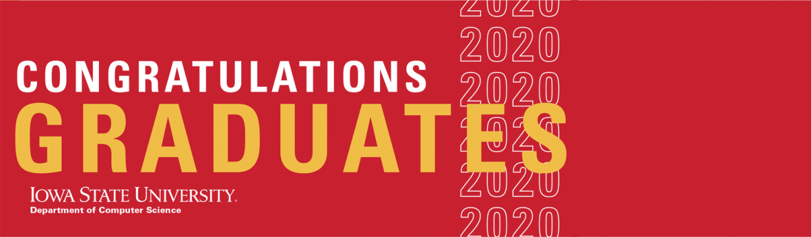 Spring 2020 Graduates Banner