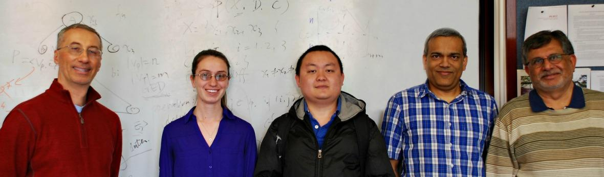 Susan Maslo and Yuxiang Zhang have been recognized as the 2016 Top Problem Solvers by the Department of Computer Science.